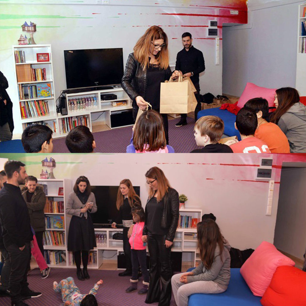 "The Colour Day Festival at ""The smile of the child"" with Elena Paparizou"