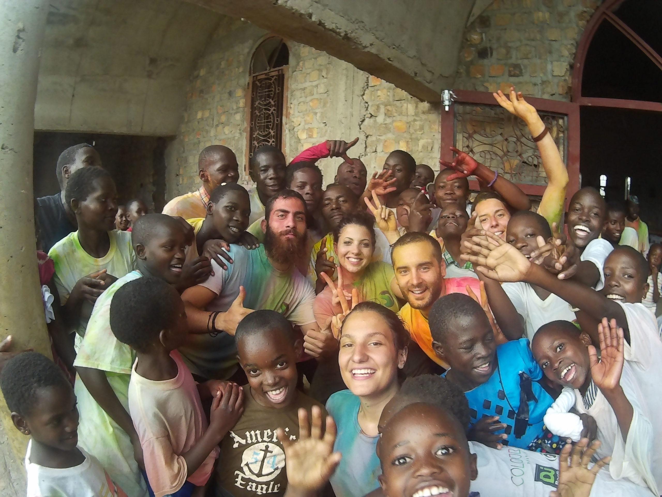 Η Skull Productions & το Colour Day κατάφερε να φτάσει μέχρι την Ουγκάντα