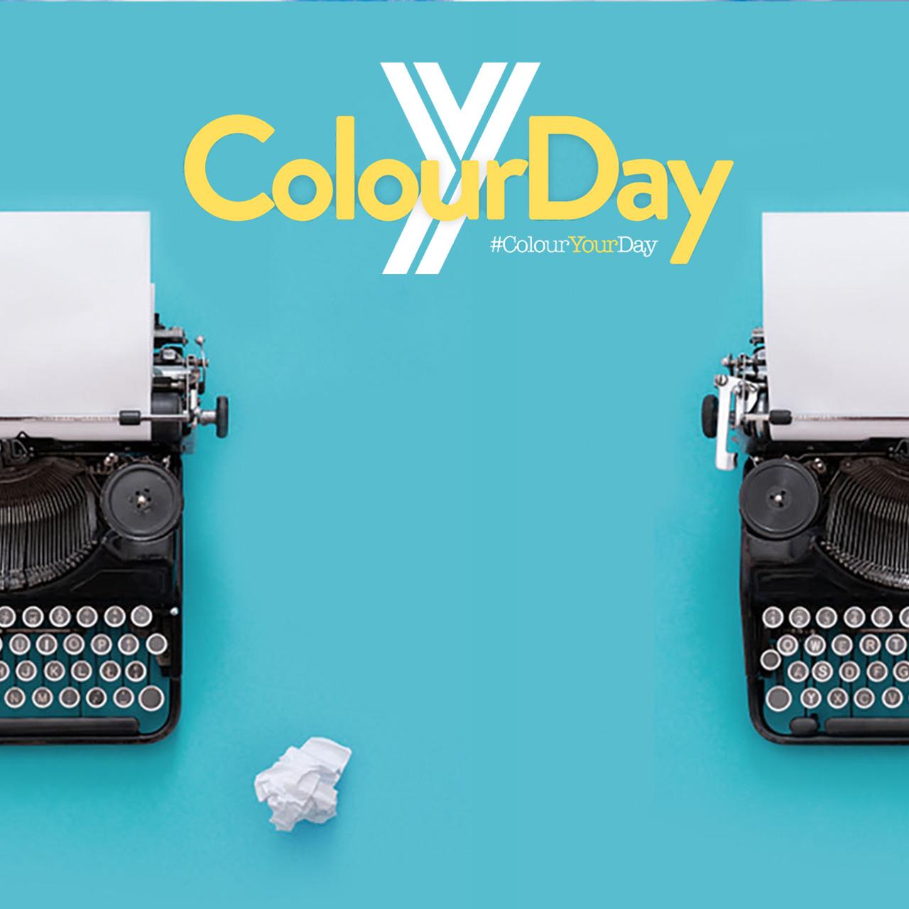 Colour Your Day: Tα πιο χρωματιστά νέα βρίσκονται εδώ!