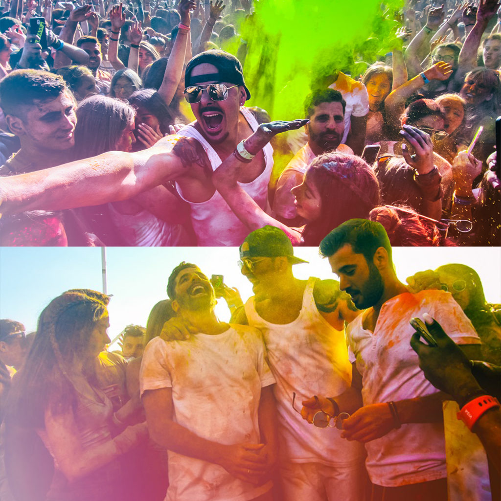 To Colour Day Festival έδωσε χρώμα στο Bachelor 3