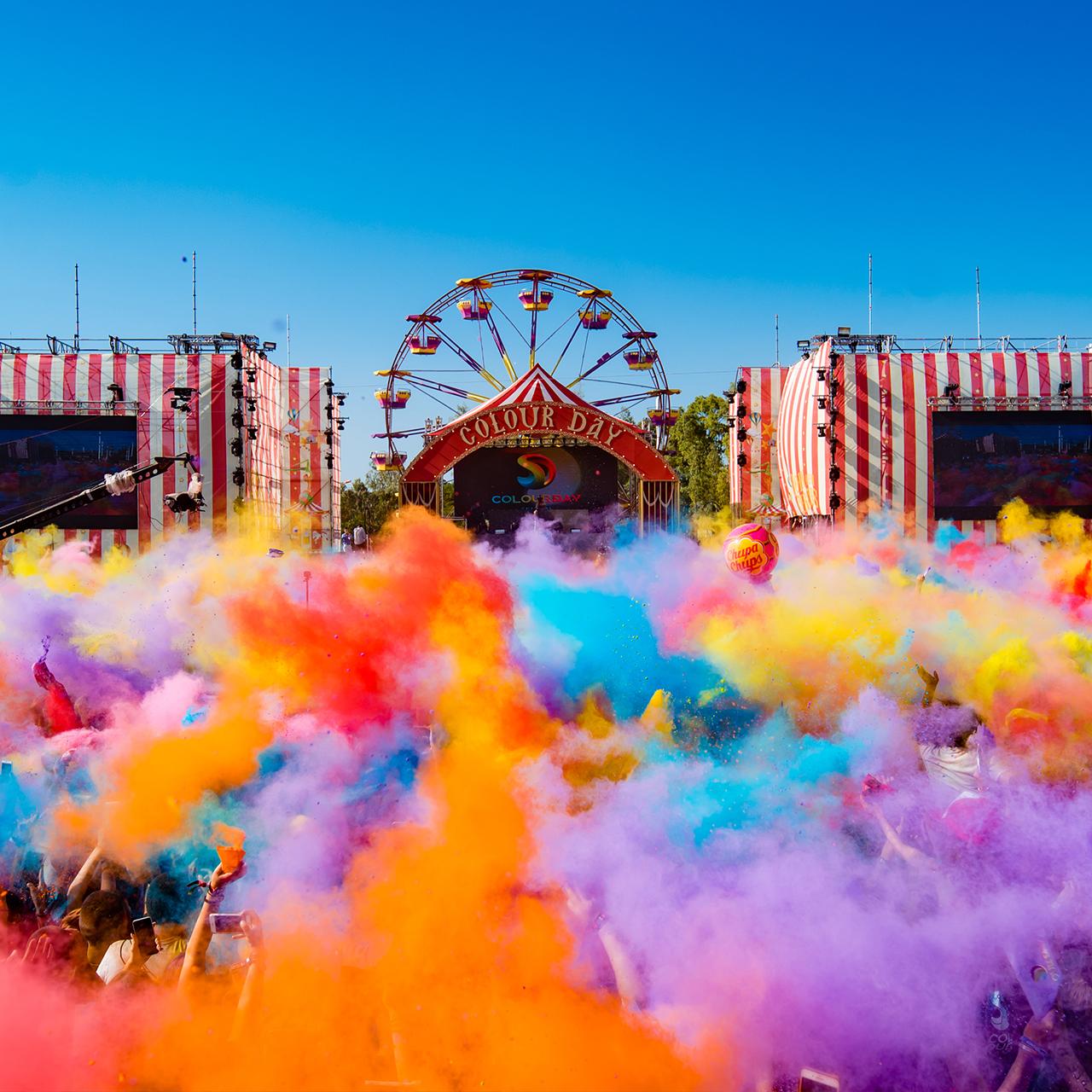 Γέμισε χρώμα η Αθήνα στο Colour Day Festival 2019. Απλά Μαγικά !